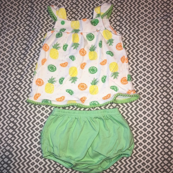 Isaac Mizrahi Other - Baby Girl Lime Green Two Piece